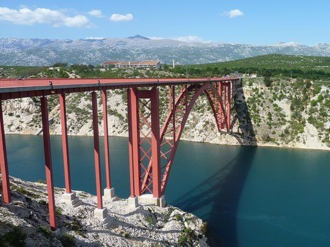 Zadar, Maslenica bridge