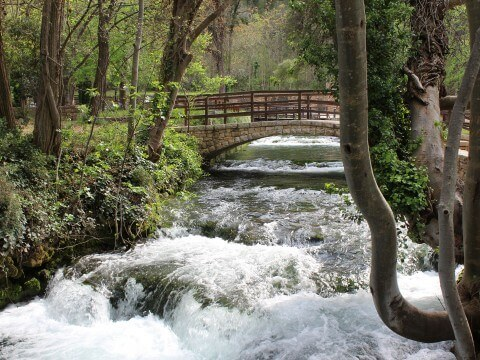 Krka lakes, Bridge of troubled water