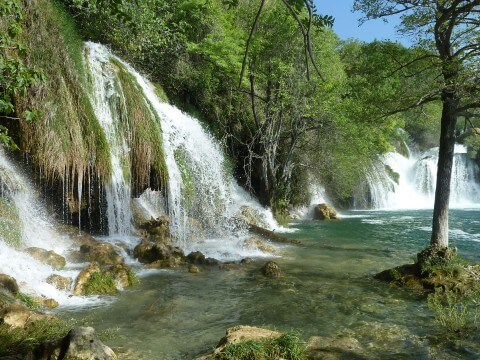 Krka lakes, Waterfall