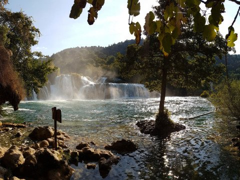 Krka lakes, Swimming area